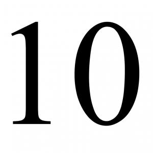 Rittenkaart – 10 ritten